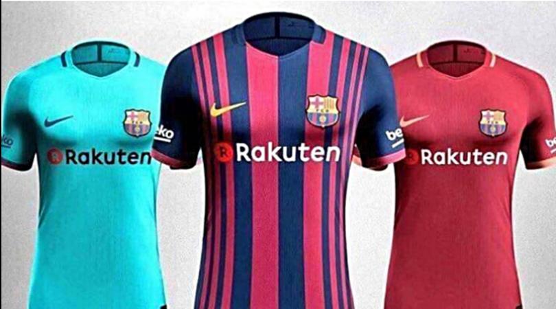 Terza Maglia FC Barcelona Messi
