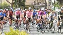 Patrick Dempsey ciclista per un giorno al Giro d'Italia