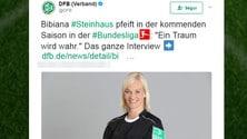 Bundesliga, Bibiana Steinhaus sarà il primo arbitro donna