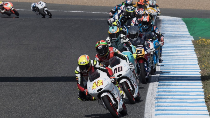 Moto3, Le Mans: Martin in pole, Bulega secondo