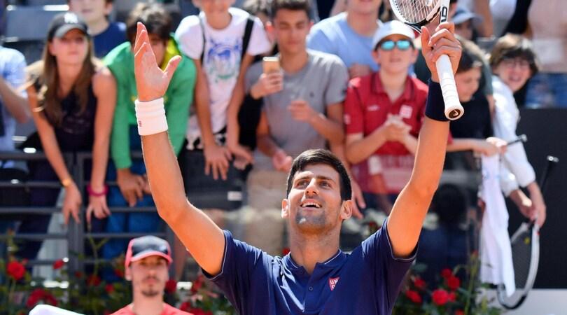 Internazionali d'Italia: Djokovic in semifinale, out Del Potro