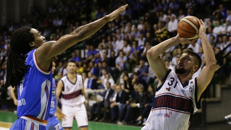 Serie A2, Treviso espugna Bologna e riapre i giochi
