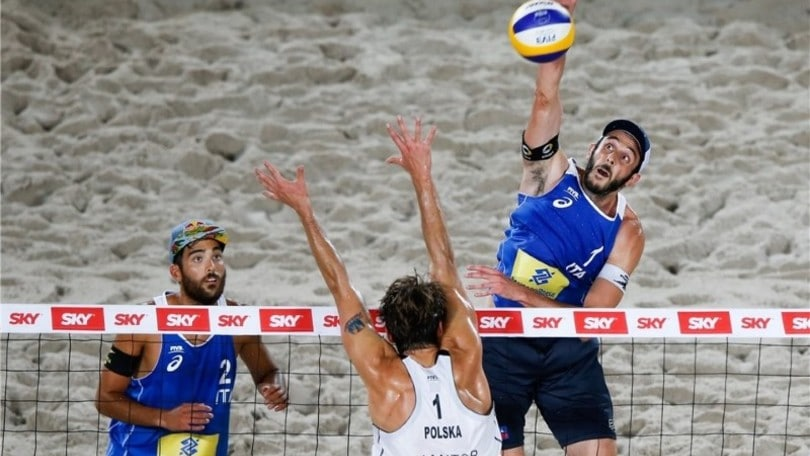 Beach Volley: a Rio Lupo-Nicolai sconfitti dai polacchi Losiak-Kantor