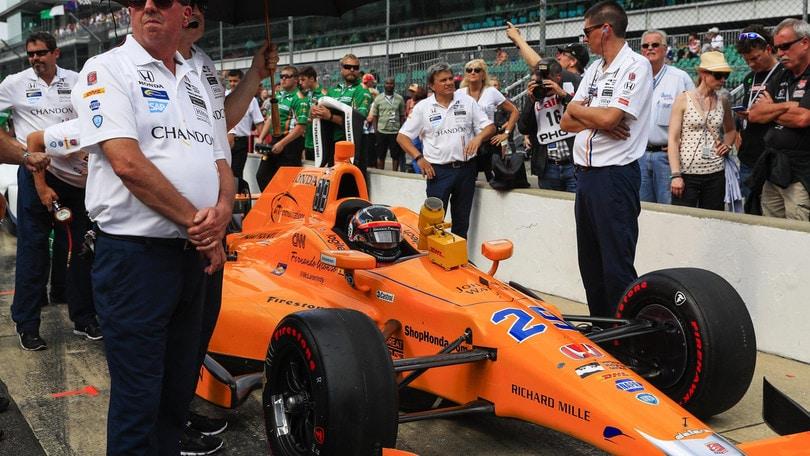 F1, Alonso ad Indy si gioca la pole tra i