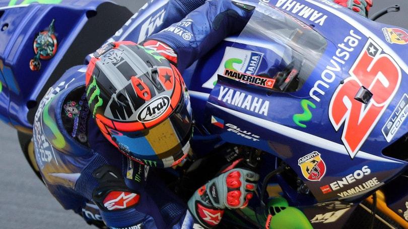 MotoGp Le Mans: Rossi out, vince Vinales