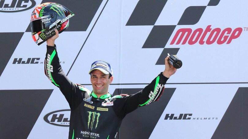 MotoGp Le Mans, Zarco: «Primo podio in casa, è fantastico»