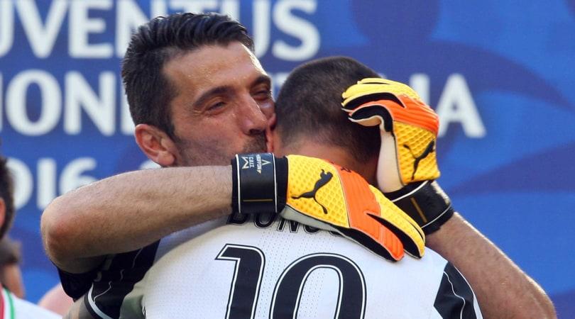Festa Juve - Le parole di Buffon: