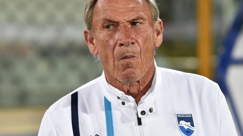Serie A Pescara, Zeman: «Risultato voluto. Totti? Non lascia domenica»