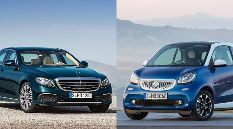 Smart e Mercedes Classe E,doppia sfida molto Audax