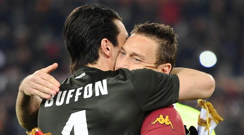 Buffon: «Totti? Parando alcuni suoi gol avrei rovinato dei capolavori»