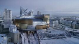 Libeskind, dallo stadio della Roma al palazzetto del ghiaccio di Tampere