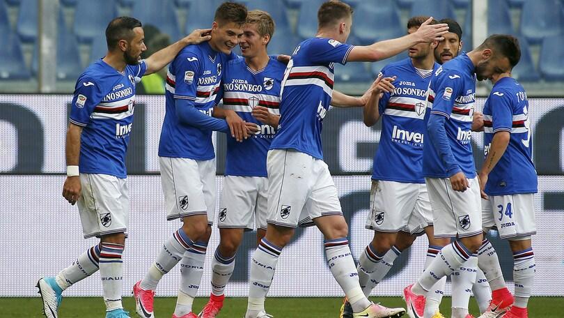 Sampdoria, doppia seduta tattica verso il Napoli