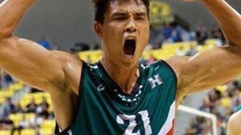 Volley: Superlega, a Sora, l'hawaiano Kupono Fey