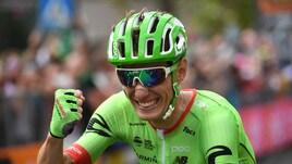 Giro d'Italia, Rolland trionfa a Canazei