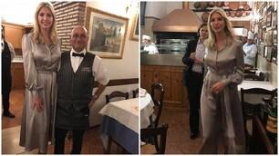 Ivanka Trump a Roma: serata in un ristorante del centro