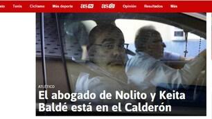 Blitz dell'Atletico Madrid per Keita: l'avvocato al Calderon