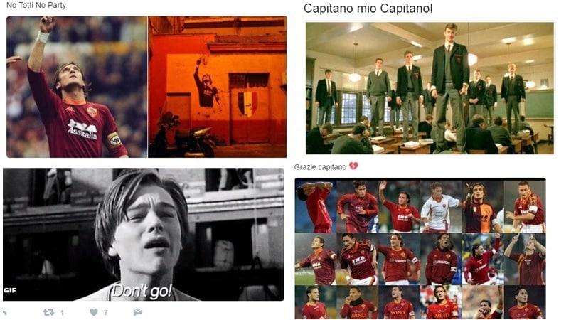 Roma, addio Totti: