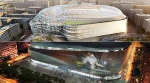 Real Madrid, per il Bernabeu restyling di lusso da 400 milioni