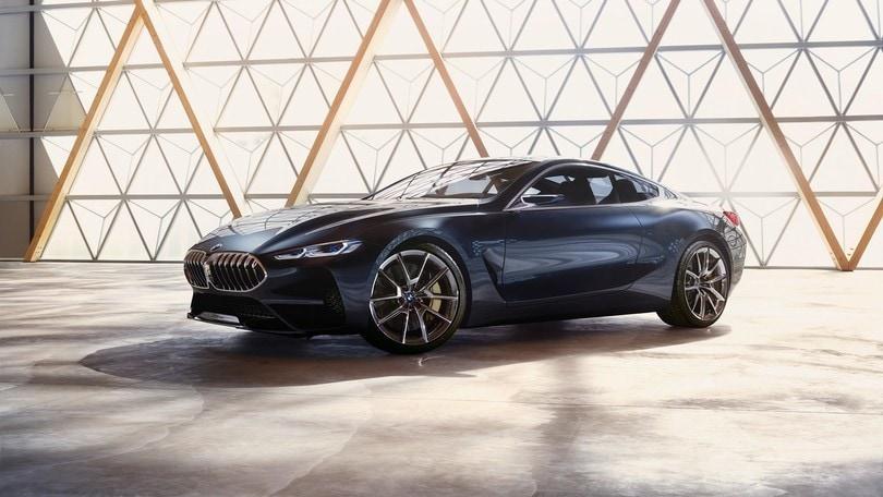 Bmw Serie 8 Concept, da Villa d'Este al futuro