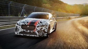 Jaguar XE SV Project 8, immagini