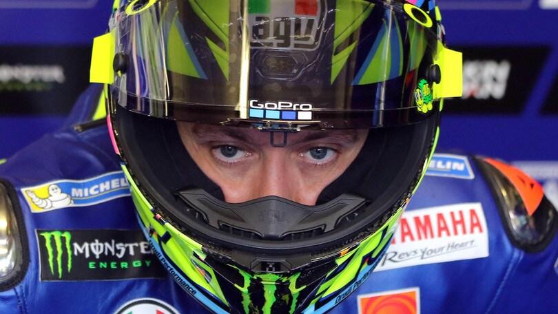 MotoGp Yamaha, Rossi: «Ero fisicamente in difficoltà»