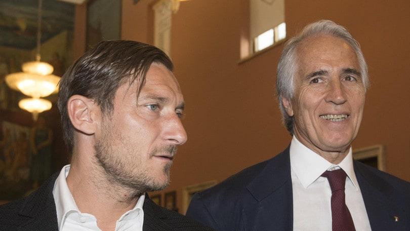 Conferenza Totti, Malagò: