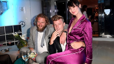 F1, cocktail di celebrities al Martini Yacht Party