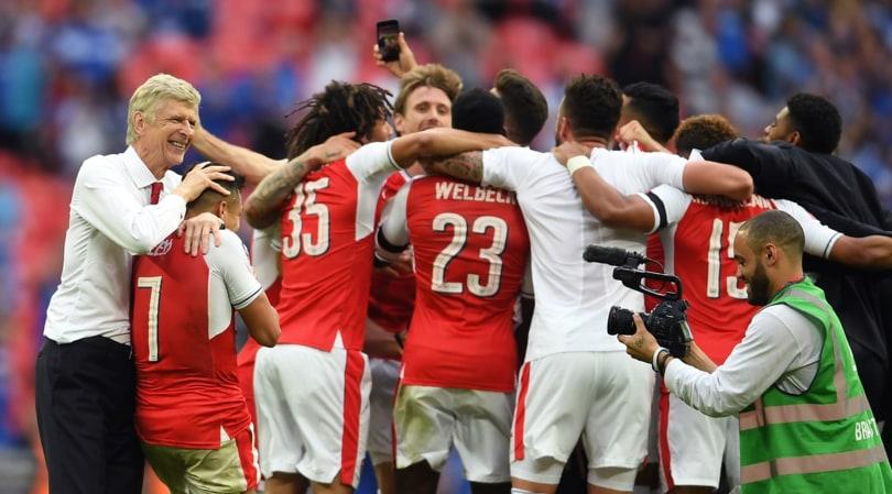 FA Cup, Arsenal-Chelsea 2-1: Conte battuto in finale, Wenger da leggenda