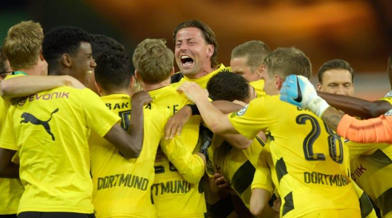 Coppa di Germania al Borussia Dortmund, battuto l'Eintracht 2-1