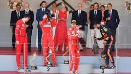 F1 Gp Monaco, tripudio Ferrari: Vettel e Raikkonen sul podio