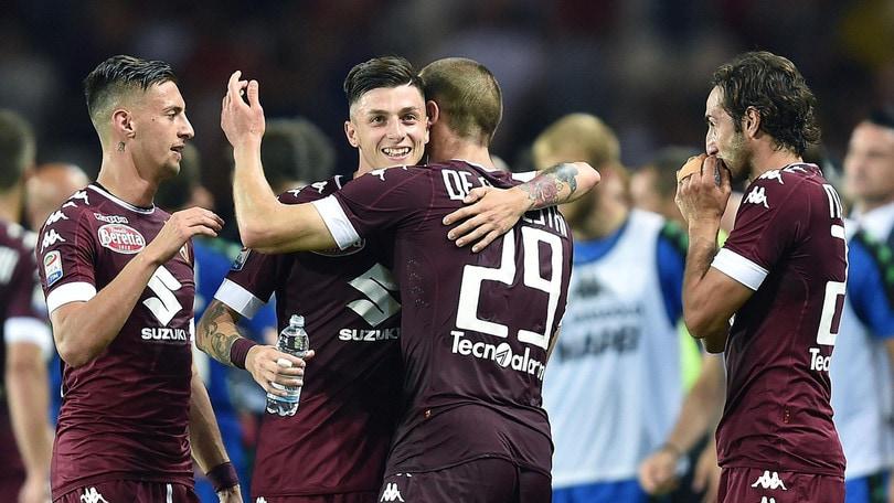 Serie A Torino-Sassuolo 5-3, il tabellino