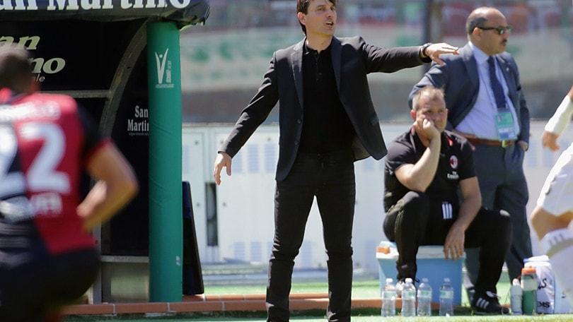 Montella: «Vogliamo tornare in Champions»