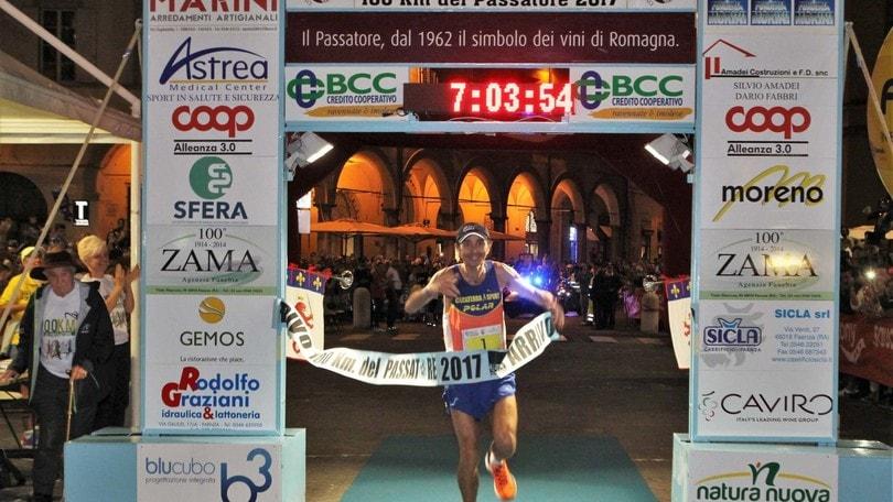 Giorgio Calcaterra e il 12° successo alla 100km del Passatore