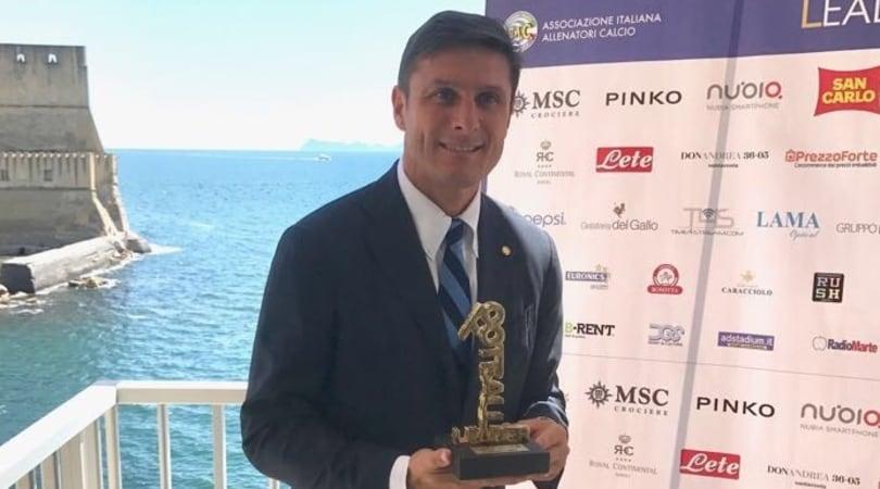 Zanetti incorona Totti: