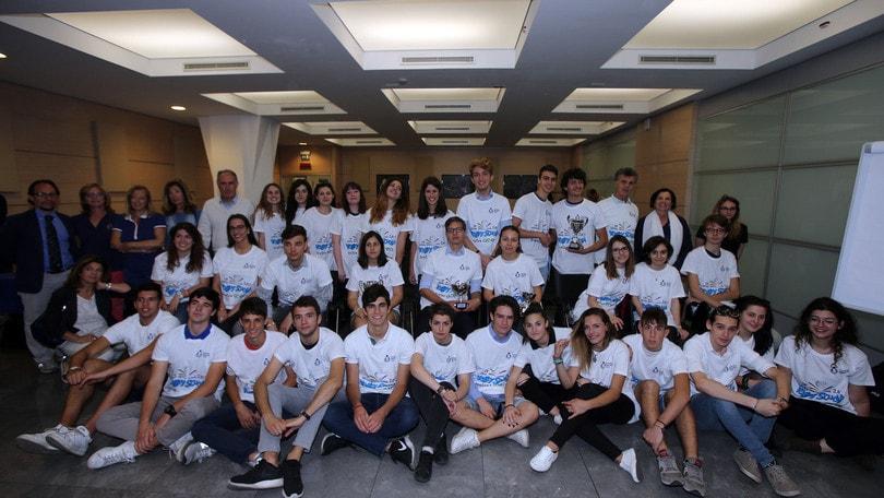 Volley Scuola – Trofeo Acea: premiati i vincitori dei concorsi