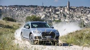 Audi, la gamma Q a Matera: foto