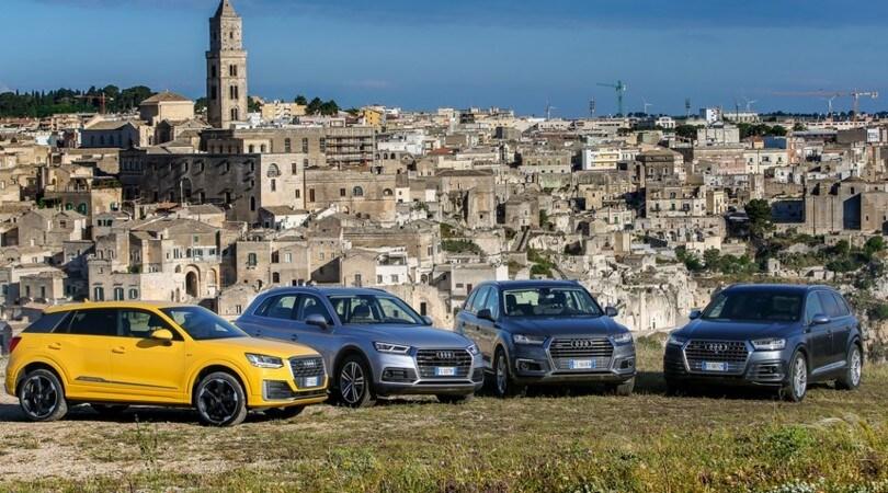 Audi, grandi manovre Suv verso il futuro elettrico