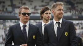 F1, Partita del Cuore: Raikkonen show, è tripletta!