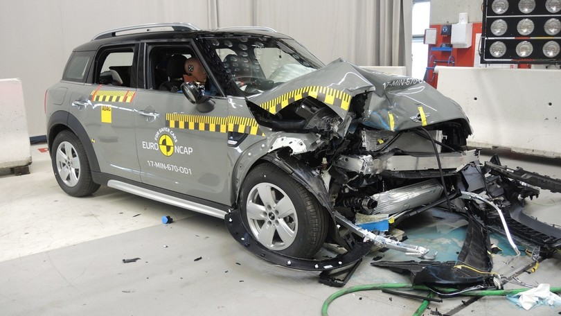 Crash test Euro NCAP, 5 stelle per Countryman e Kodiaq