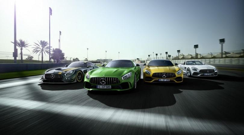 Mercedes AMG, mezzo secolo di sportività