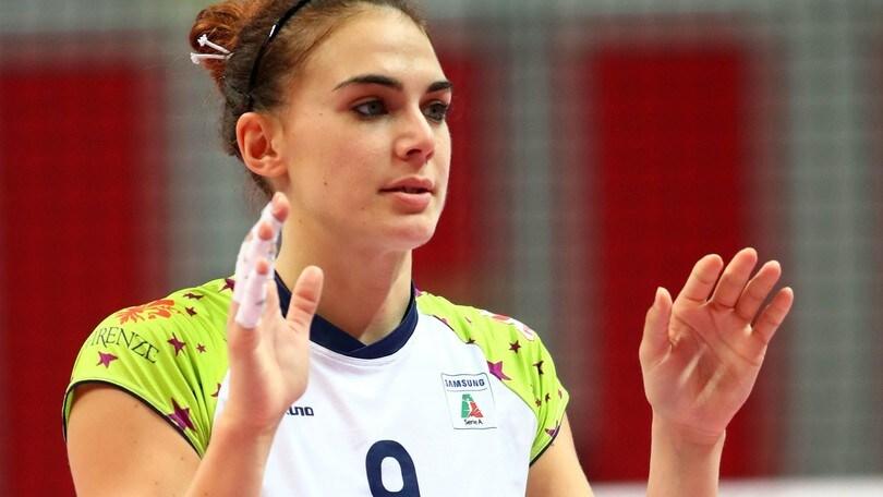 Volley: A1 Femminile, con Laura Melandri Conegliano rinforza il centro