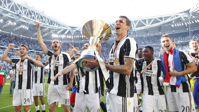 Image result for juventus serie a champions 2017 18