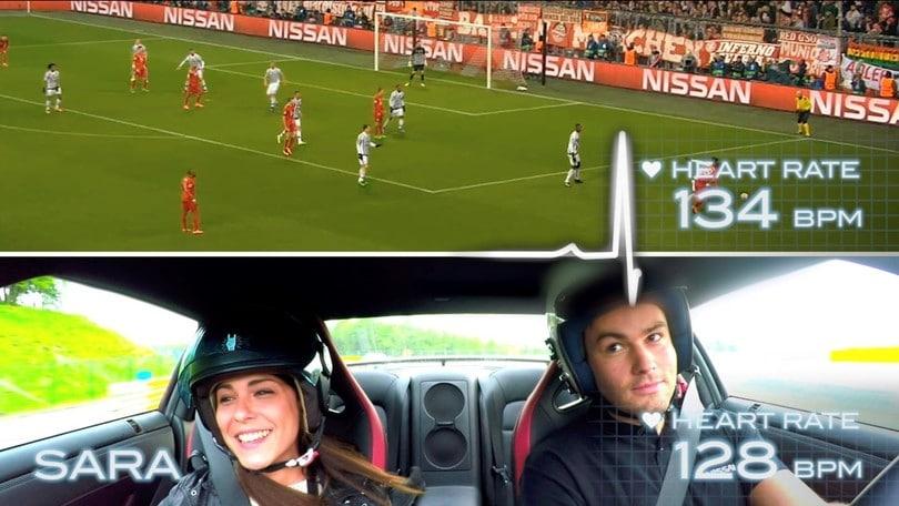 E' più emozionante una partita di calcio o una supercar?