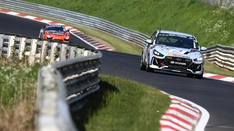 Hyundai i30 N, i test finali alla 24 Ore del Nurburgring