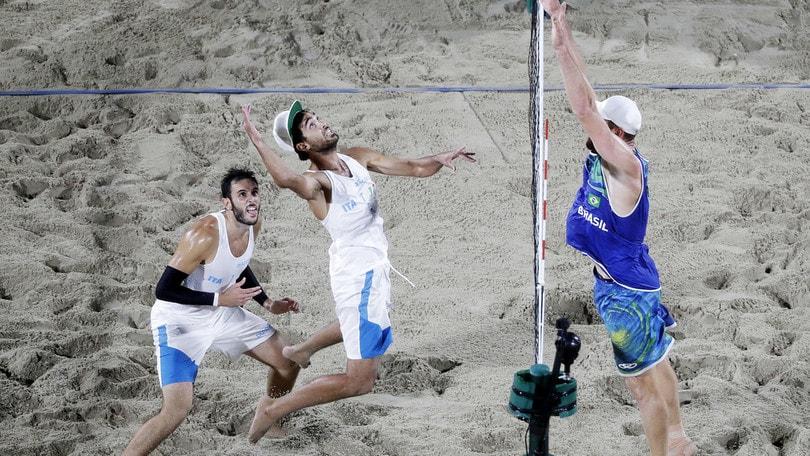Beach Volley: Lupo-Nicolai vittoriosi a Mosca