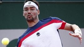Tennis, Roland Garros: Fognini a 3,55 contro Wawrinka