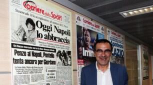 Sarri al Corriere dello Sport-Stadio: forum in redazione