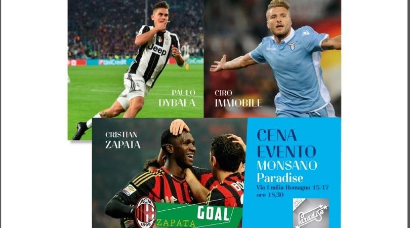 Dybala, Zapata e Immobile vincono il premio Cesarini