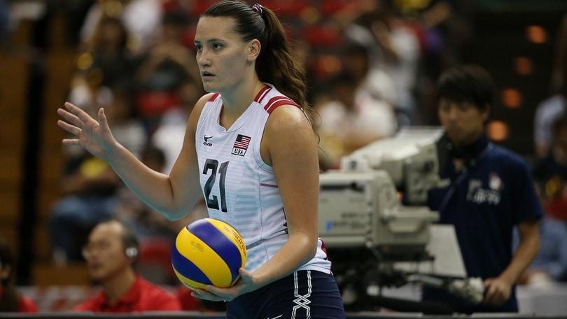Volley: A1 Femminile, a Monza la centrale arriva dagli States: Dixon