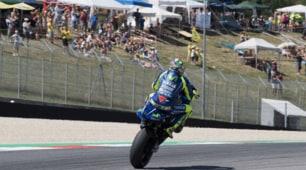 MotoGp, prove libere Mugello: il dolore non ferma Valentino Rossi